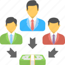 business people, group, people, team, teamwork icon