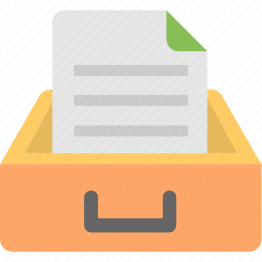 archives, data, document, file, folder icon