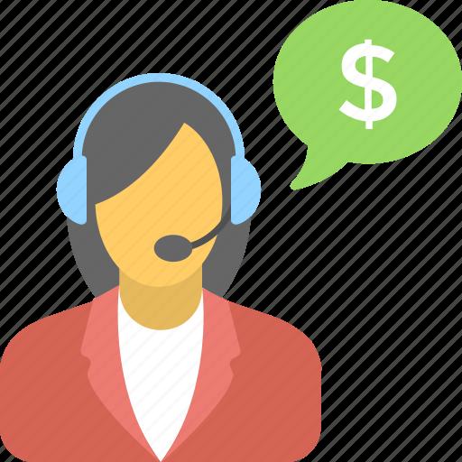 customer service, help center, helpline, representative, support icon