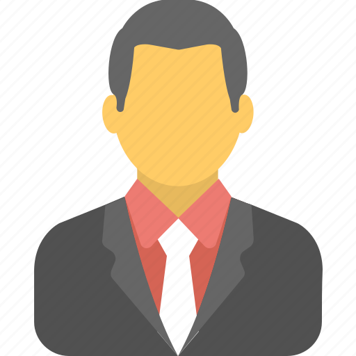 business person, businessman, employee, manager, worker icon