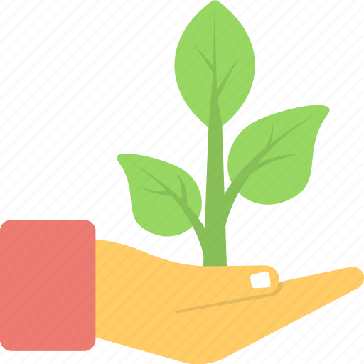 ecology, gardening, leaves, nature, plantation icon