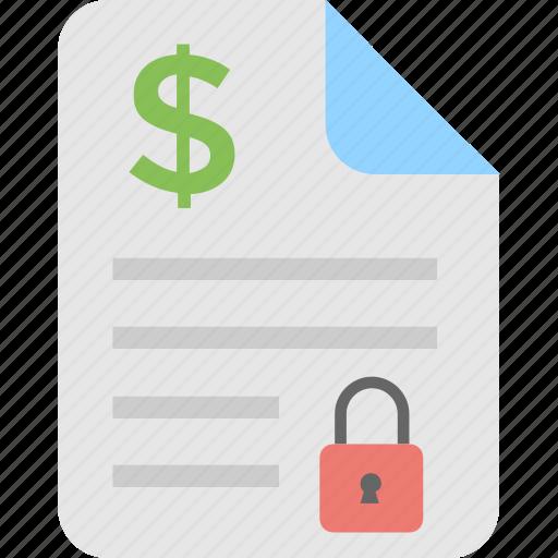 accounts, bill, confidential, report, tally icon