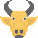 animal, bison, bull, monopoly, ox icon