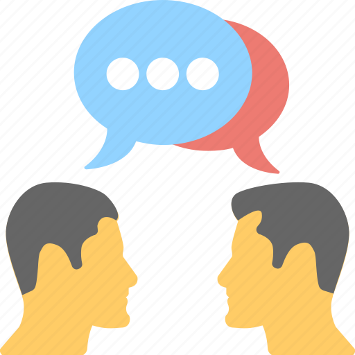 communication, consult, discussion, speak, talk icon