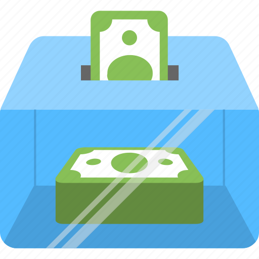 banknotes, cash, money, savings, wealth icon