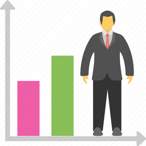 advancement, career, graph, growth, promotion icon
