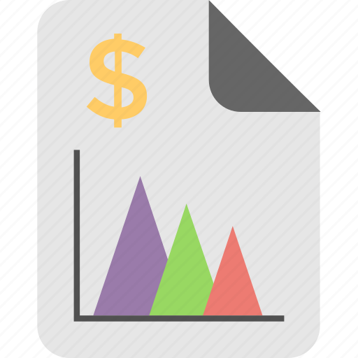 analysis, file, graph report, report, statistics icon
