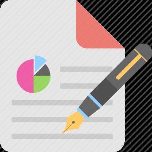 analysis, file, graph report, report, statistics icon