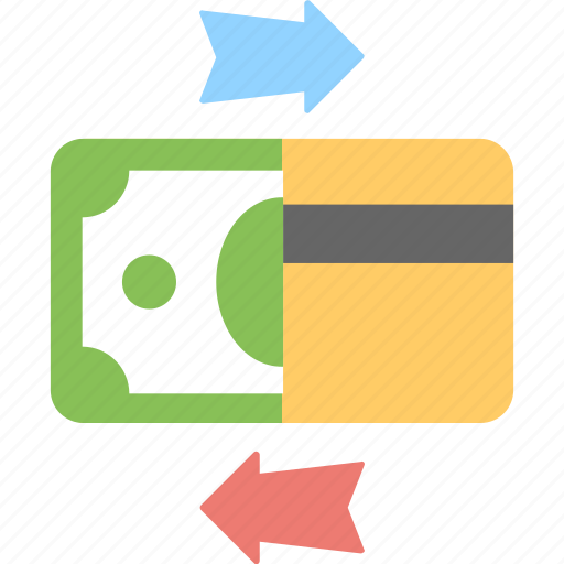 banking, banknote, credit card, finance, payment methods icon