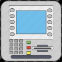 atm, atm machine, automated teller machine, cash line, cash machine, cdm machine icon