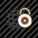 safe, transfer, lock, security, shield icon