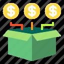 bank, box, cash, finance, money