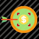bank, cash, money, target