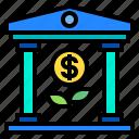 bank, banking, cash, finance, money icon