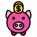 money, piggy, saving