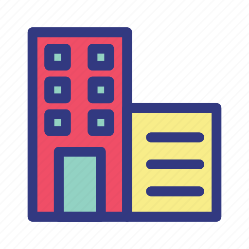 banking, building, business, finance, money icon