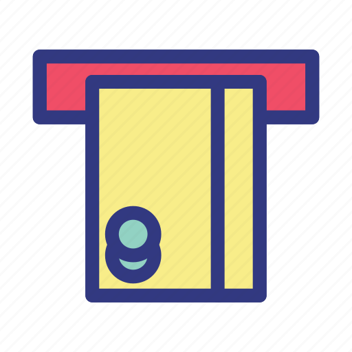 atm, banking, business, finance, money icon