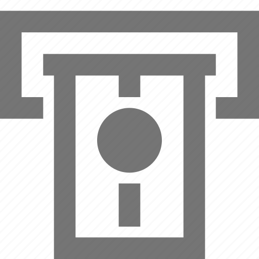 atm, bank, banking, credit card, finance, material, money icon
