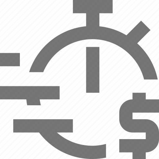 auction, banking, investment, material, money, short-term, time icon