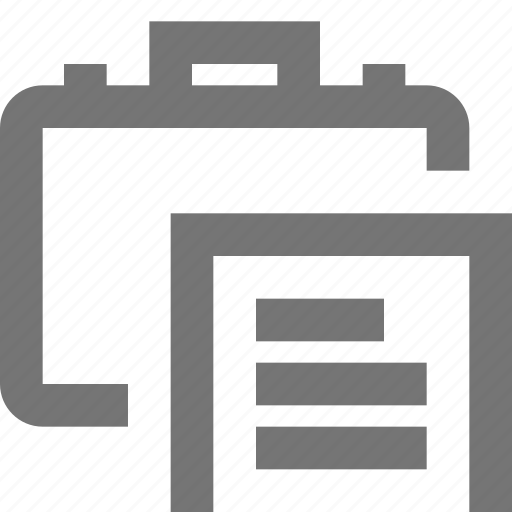business, case, company, document, global, material icon