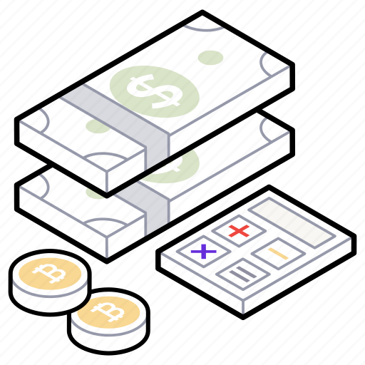 accounting calculation, budget, budget planning, cash, financial calculation icon