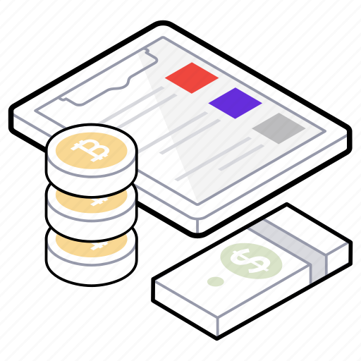 budgeting list, capital, fund, investment record, savings icon