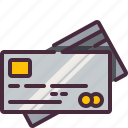 bank, card, credit, money, pay, pay card, payment icon