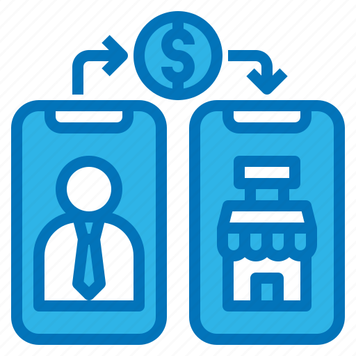 Banking, mobile, money, shopping, transfer icon - Download on Iconfinder