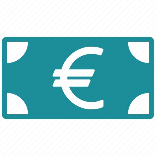 banknote, cash, currency, euro, finance, financial, money icon