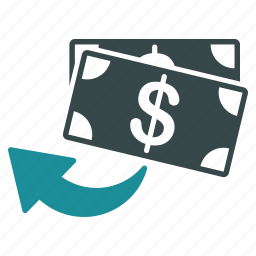 back, cashback, chargeback, money, payment, restore, undo icon