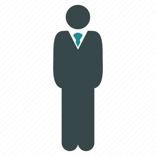 businessman, employee, leader, man, manager, person, user icon