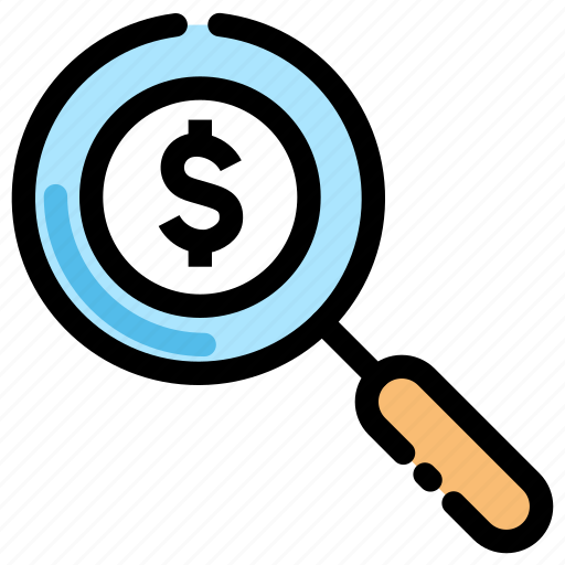 banking, bill, finance, history, money, search, transaction icon icon