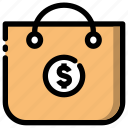 banking, cart, finance, payment, shopping icon icon