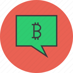 alert, balance, bitcoin, message, mobile, notification, transaction icon