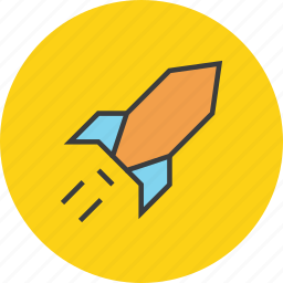 astronomy, profit, rocket, space, superfast, transportation icon
