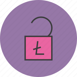 account, banking, enable, funds, release, trade, unlock icon