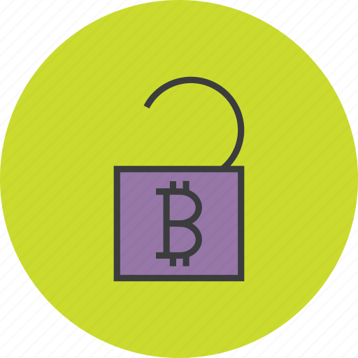 access, account, bitcoin, finance, funds, trade, unlock icon