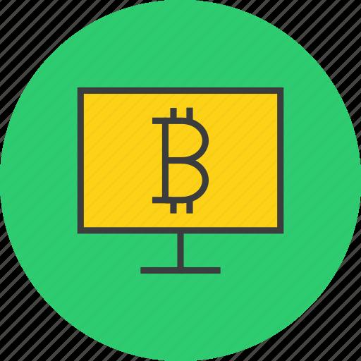 ahopping, bitcoin, computer, digital, electronic, etrade, online icon