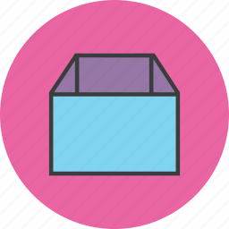 box, business, delivery, package, product, shopping, trade icon