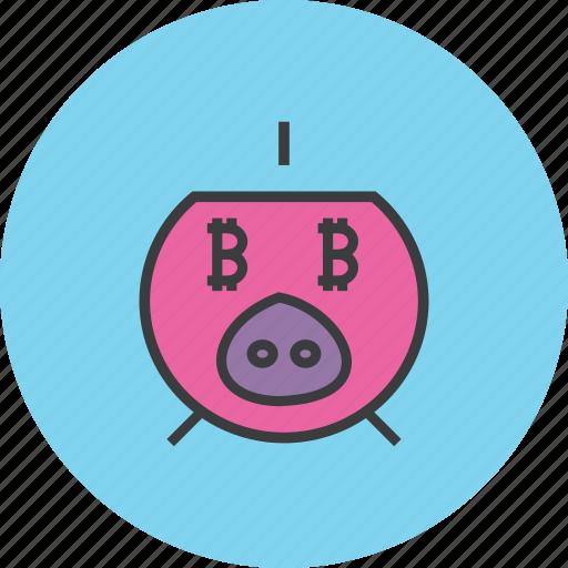 bank, banking, digital, guardar, piggy, save, savings, virtual icon