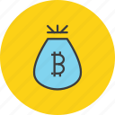 bag, business, cash, finance, funds, money, reward icon