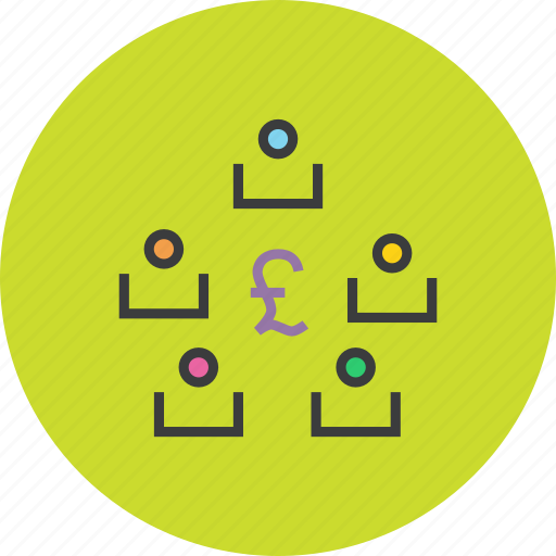 exchange, funds, online, pound, stakeholders, transaction, transfer icon