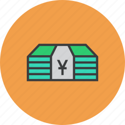cash, chinese, commerce, currency, finance, money, yuan icon