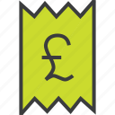 bill, cost, finance, invoice, report, statement, trade icon