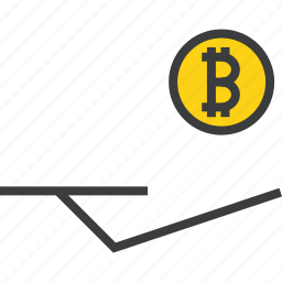 accept, bitcoin, digital, donate, donation, electronic, online icon