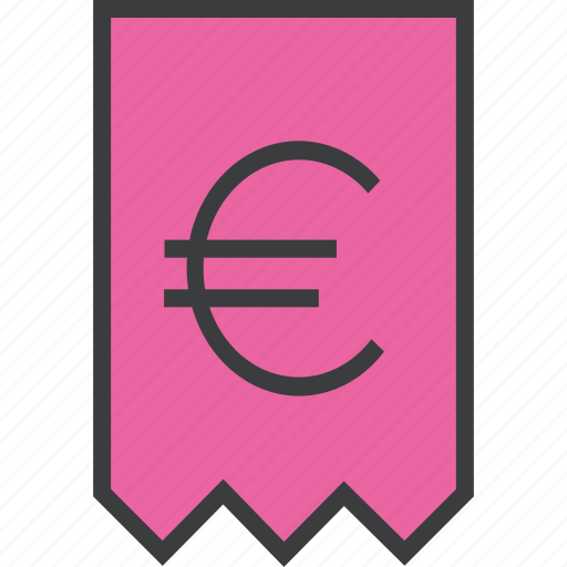 bill, business, euro, finance, invoice, statement, trade icon