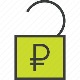 access, account, banking, business, funds, release, unlock icon
