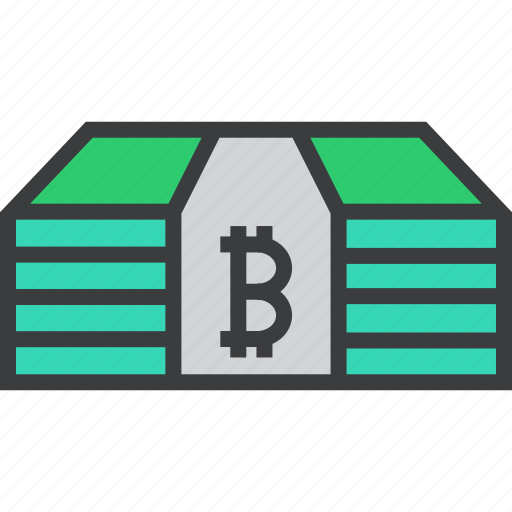 bitcoin, currency, digital, money, online, shopping, virtual icon