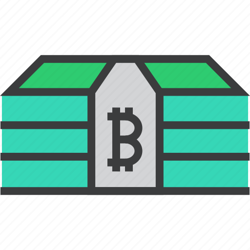 bitcoin, cash, currency, digital, money, online, shopping icon