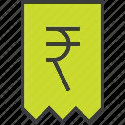 bill, business, finance, invoice, rupee, statement, trade icon